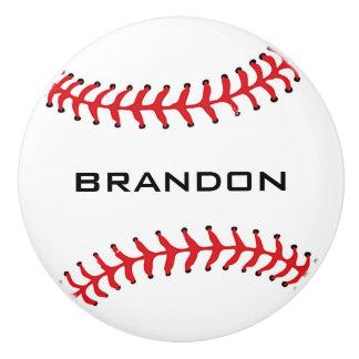 Tirón de cerámica del diseño del béisbol