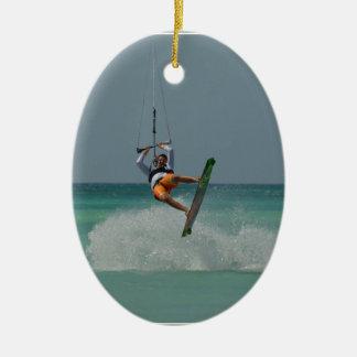 Tirón de Kitesurfing Ornamente De Reyes