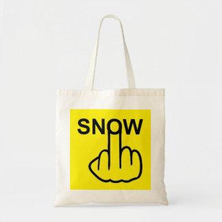 Tirón de la nieve del bolso bolsas de mano