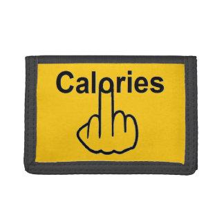 Tirón de las calorías de la cartera