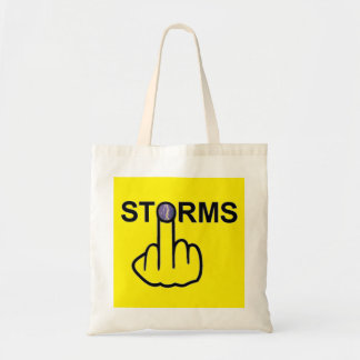 Tirón de las tormentas del bolso bolsa de mano