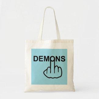 Tirón de los demonios del bolso bolsa