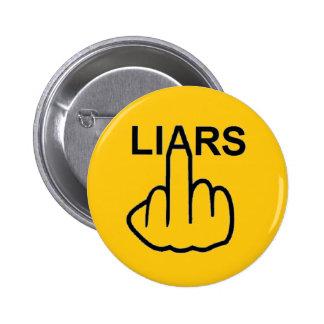 Tirón de los mentirosos del botón pin