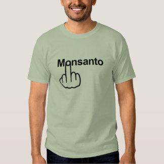 Tirón de Monsanto de la camiseta Playera