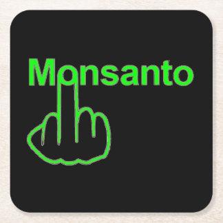 Tirón de Monsanto del práctico de costa Posavasos Personalizable Cuadrado