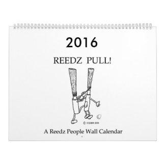 ¡Tirón de Reedz! Calendario 2016