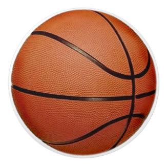Tirón del cajón del diseño del baloncesto, botón pomo de cerámica