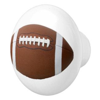 Tirón del cajón del fútbol, niños del tirón del pomo de cerámica