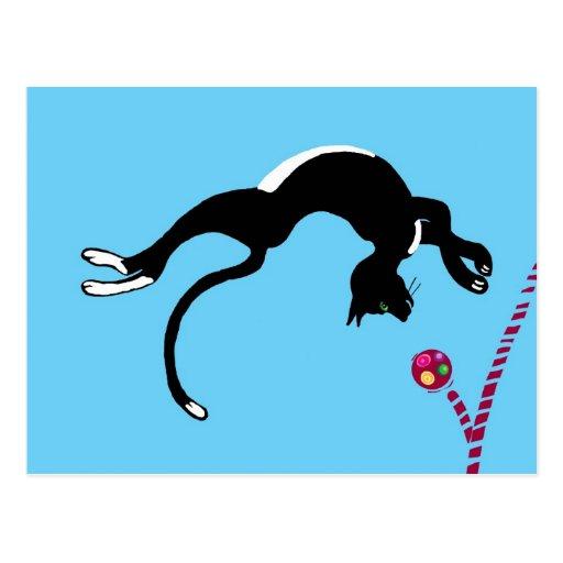 Tirón del gato postal