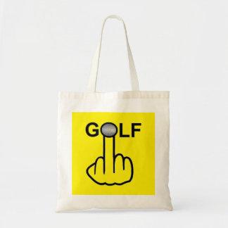 Tirón del golf del bolso bolsa de mano