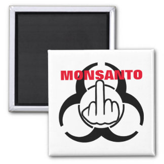 Tirón del peligro de Monsanto del imán bio