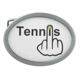 Tirón del tenis de la hebilla del cinturón hebilla de cinturon oval