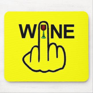 Tirón del vino de Mousepad