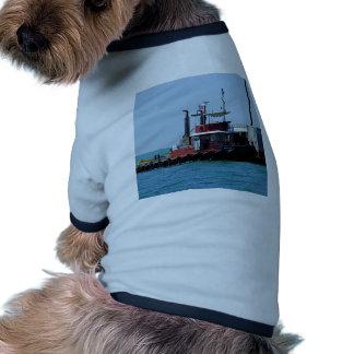 Tirón en el trabajo camisetas de perrito