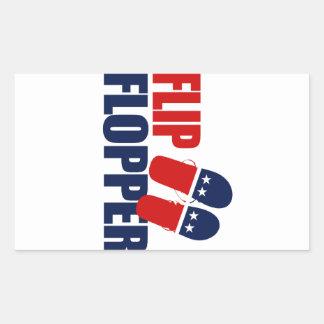 Tirón Flopper Romney Pegatina