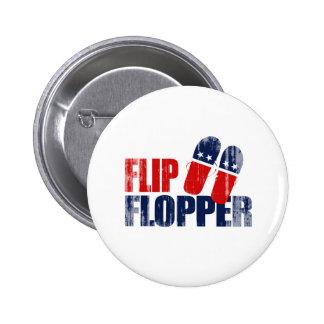 Tirón Flopper Romney.png Pin Redondo De 2 Pulgadas