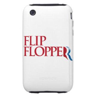Tirón Flopper Tough iPhone 3 Protectores