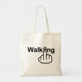 Tirón que camina del bolso bolsa