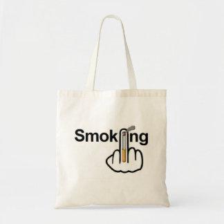 Tirón que fuma del bolso bolsa tela barata