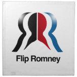 Tirón Romney - .png Servilleta Imprimida
