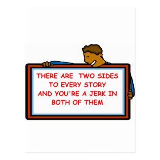 tirón tarjetas postales