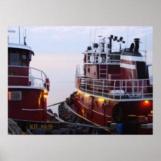 Tirones en el puerto en impresiones