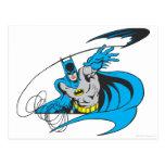 Tiros Batarang 3 de Batman Tarjeta Postal