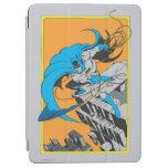 Tiros Batarang de Batman en tejado Cover De iPad Air