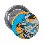 Tiros Batarang de Batman en tejado Pin