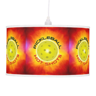 Tiros calientes de Pickleball 1 lámpara