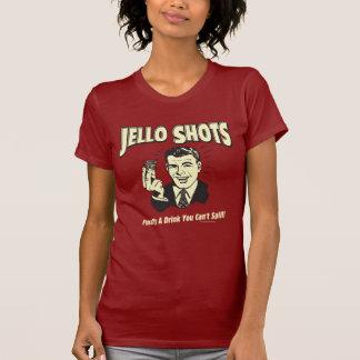 Tiros de Jello: Bebida que usted no puede Tee Shirt