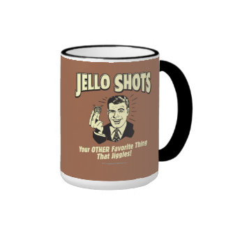 Tiros de Jello: La otra cosa preferida Tazas De Café