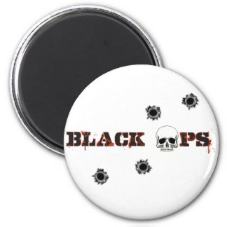 Tiros del cráneo de BlackOps Imán Redondo 5 Cm