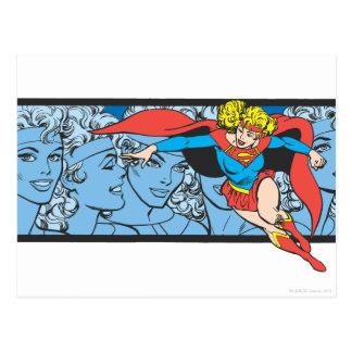 Tiros principales de Supergirl Tarjeta Postal