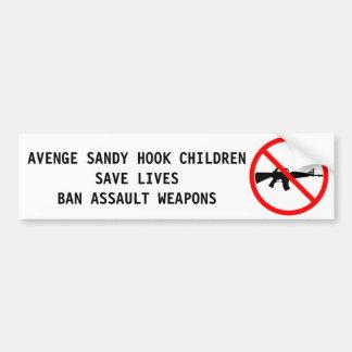 Tiroteo abundante del arma del asalto del gancho d etiqueta de parachoque