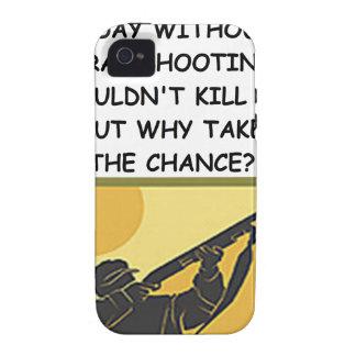 tiroteo de trampa iPhone 4/4S carcasa