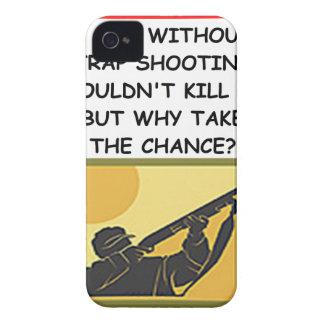 tiroteo de trampa iPhone 4 cárcasa