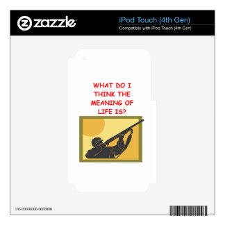 tiroteo de trampa iPod touch 4G skin