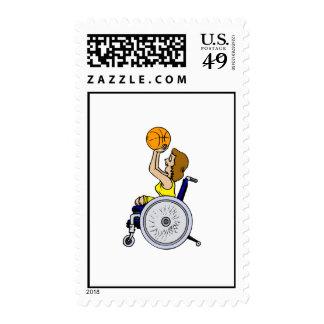 Tiroteo del chica de la silla de ruedas sello