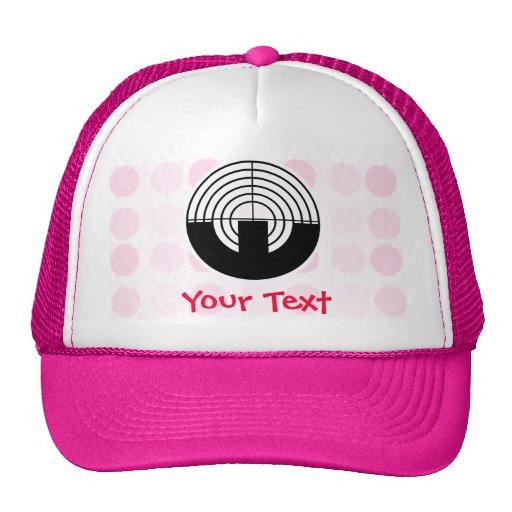 Tiroteo lindo del deporte gorras de camionero