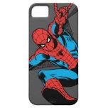 Tiroteo retro del Web de Spider-Man iPhone 5 Cobertura