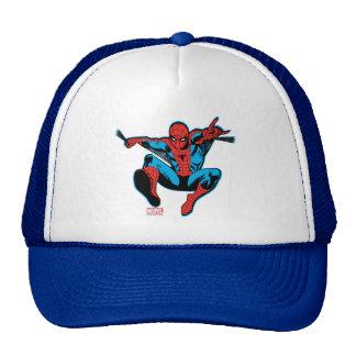 Tiroteo retro del Web de Spider-Man Gorra