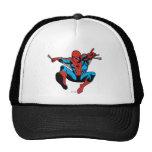 Tiroteo retro del Web de Spider-Man Gorras