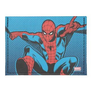 Tiroteo retro del Web de Spider-Man Tarjeteros Tyvek®