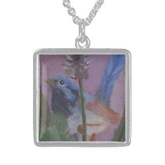 Tirrell Blue Bird Necklace