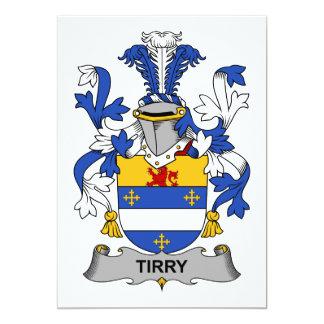 Tirry Family Crest Card