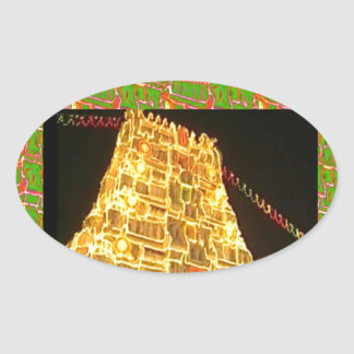 TIRUPATI Hindu Temple : South India Sticker