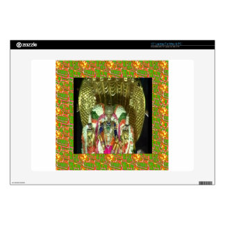 "TIRUPATI TEMPLE SOUTH INDIA PILGRIMAGE HOLY TRIP DECAL FOR 15"" LAPTOP"