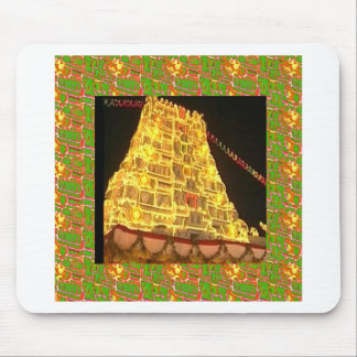 TIRUPATI TEMPLE SOUTH INDIA PILGRIMAGE HOLY TRIP MOUSE PAD