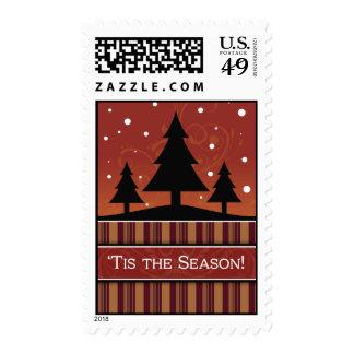 'Tis el sello del navidad de la estación